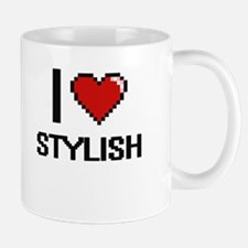 I love Stylish Digital Design Mugs