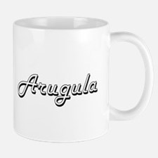 Arugula Classic Retro Design Mugs