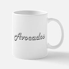 Avocados Classic Retro Design Mugs