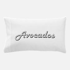 Avocados Classic Retro Design Pillow Case