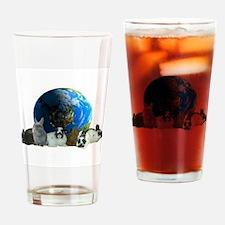 Polish World Drinking Glass