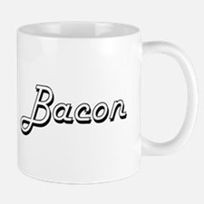 Bacon Classic Retro Design Mugs