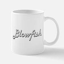 Blowfish Classic Retro Design Mugs