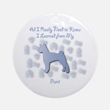 Learned Pumi Ornament (Round)