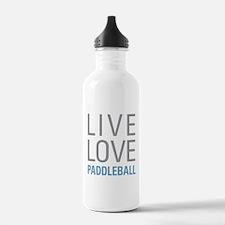 Live Love Paddleball Water Bottle