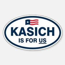 Kasich Is For US Decal
