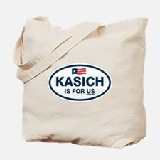 Kasich Is For US Tote Bag