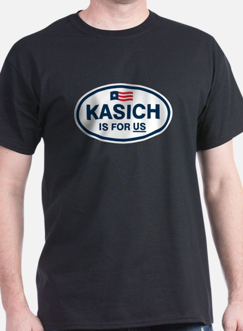 Kasich Is For US T-Shirt