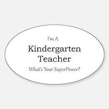Kindergarten Teacher Decal