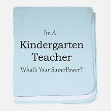 Kindergarten Teacher baby blanket