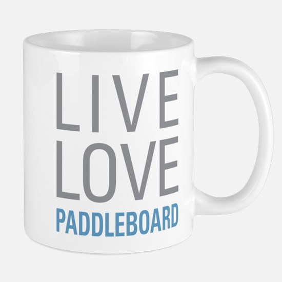 Live Love Paddleboard Mugs