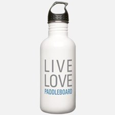 Live Love Paddleboard Water Bottle