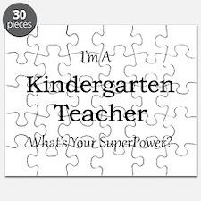 Kindergarten Teacher Puzzle