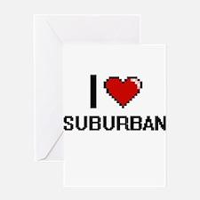 I love Suburban Digital Design Greeting Cards