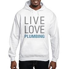 Live Love Plumbing Hoodie