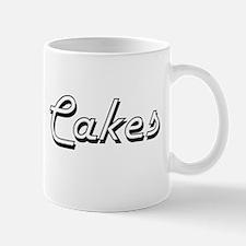 Cakes Classic Retro Design Mugs