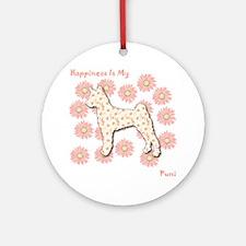 Pumi Happiness Ornament (Round)