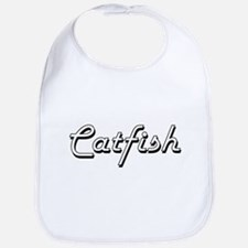 Catfish Classic Retro Design Bib