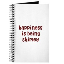happiness is being Shirley Journal