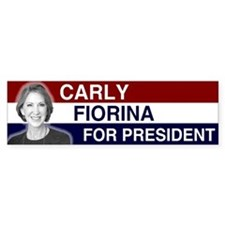 Carly Fiorina President 2016 Bumper Sticker