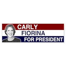 Carly Fiorina President 2016 Car Car Sticker