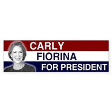 Carly Fiorina President 2016 Car Sticker
