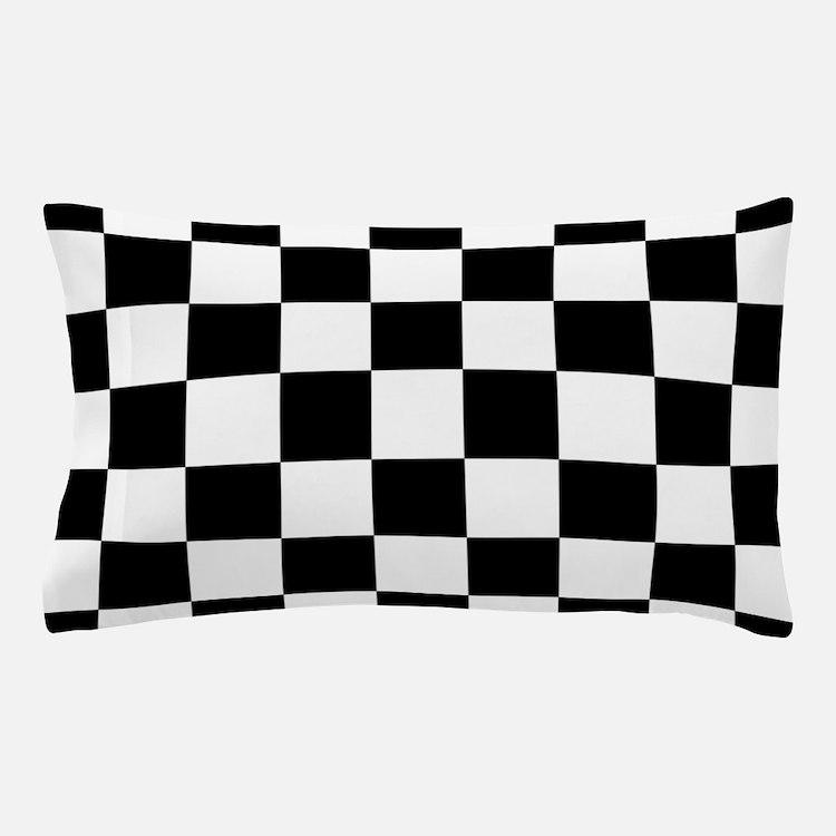 checker board Pillow Case