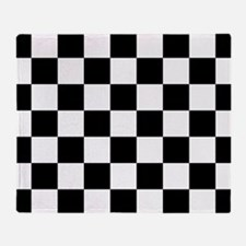 checker board Throw Blanket