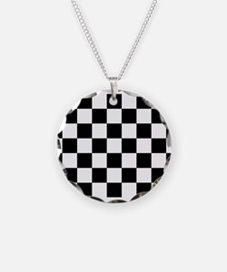 checker board Necklace