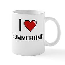 I love Summertime Digital Design Mugs