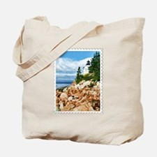 Bass Harbor Acadia National Park Maine Tote Bag
