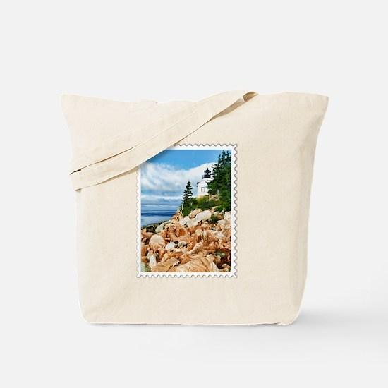 Bass Harbor Acadia National Park Maine Tote Bag