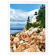 Bass Harbor Acadia National Park Maine Poster