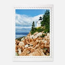 Bass Harbor Acadia National Park Ma 5'x7'Area Rug
