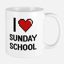 I love Sunday School Digital Design Mugs