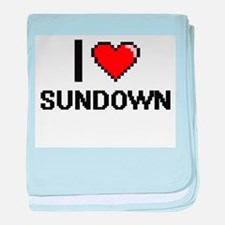 I love Sundown Digital Design baby blanket