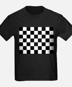 checker board T-Shirt