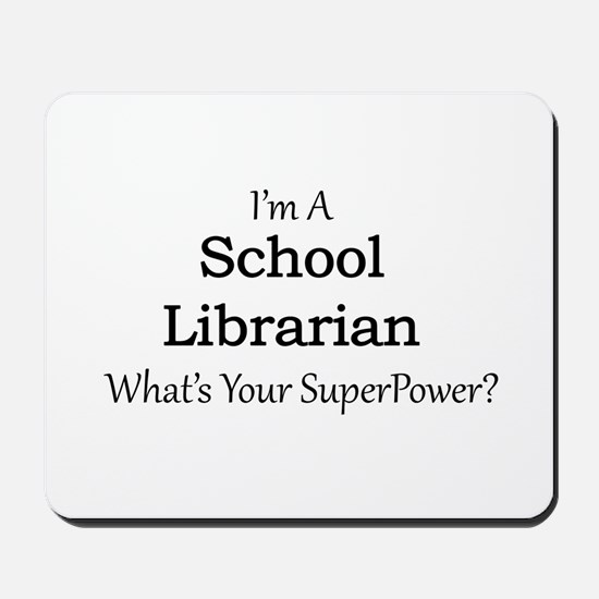 School Librarian Mousepad