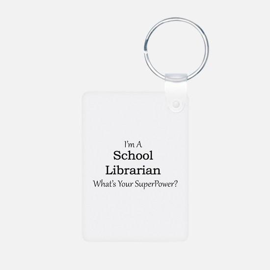 School Librarian Keychains