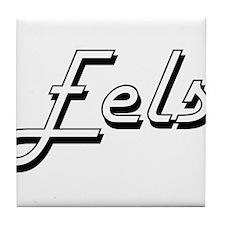 Eels Classic Retro Design Tile Coaster