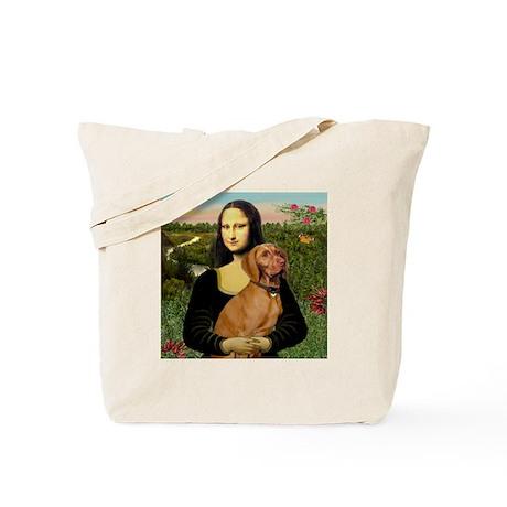 Mona Lisa (new) & Vizsla Tote Bag