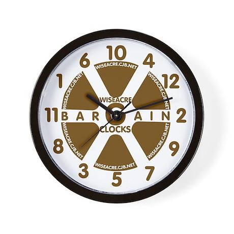 "WiseAcre ""Bargain"" Clock"