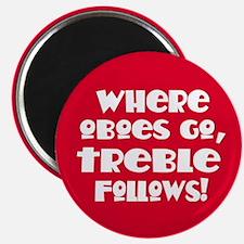 Oboe Treble Magnet