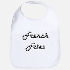 French Fries Classic Retro Design Bib