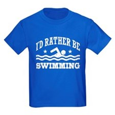 I'd Rather Be Swimming T