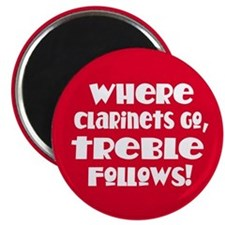 Clarinet Treble Magnet