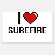 I love Surefire Digital Design Decal