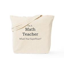 Math Teacher Tote Bag