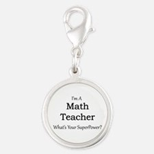 Math Teacher Charms