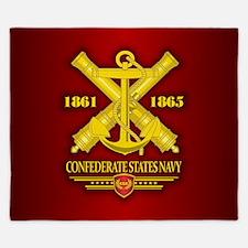 Confederate States Navy King Duvet